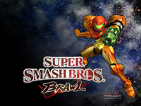 HolyFragger.com Super Smash Bros. Brawl Wallpaper 2: Samus
