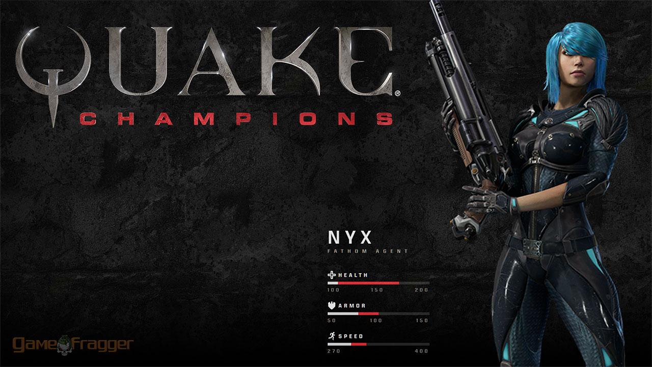 Quake Champions Wallpaper - Nyx