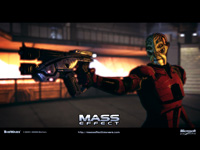Official Mass Effect Batarian Wallpaper