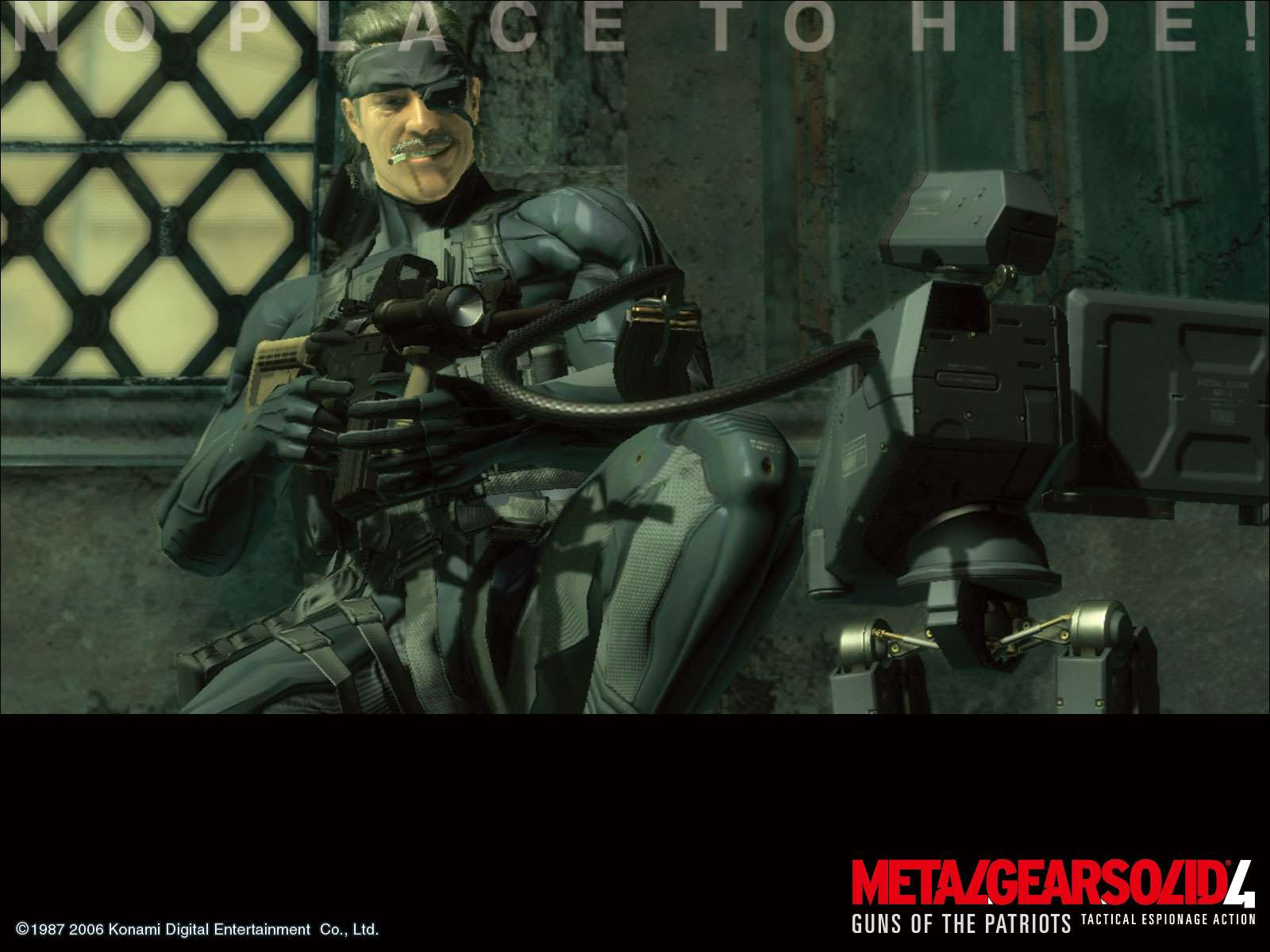 Metal Gear Solid 4 Guns Of The Patriots Official Mgs4 Wallpaper 7