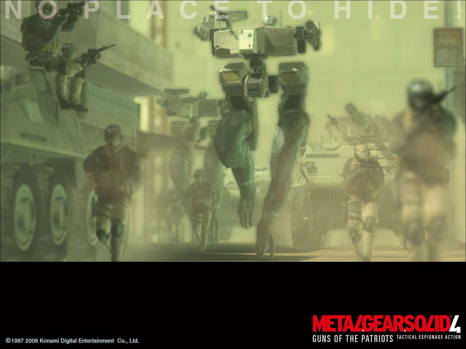 Metal Gear Solid 4 Guns Of The Patriots Official Mgs4 Wallpaper 8