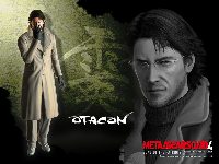Official MGS4 Otacon Wallpaper