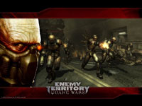 Official Quake Wars Strogg Wallpaper 2