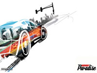 Burnout Paradise Wallpaper - Box Art