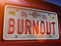 Burnout Paradise Wallpaper - License Plate