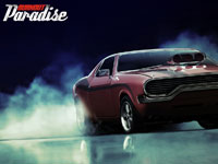 Burnout Paradise Wallpaper - Muscle Car