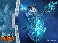 Official BattleForge Wallpaper - Frost Mage
