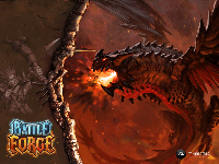 Official BattleForge Wallpaper - Fire Dragon