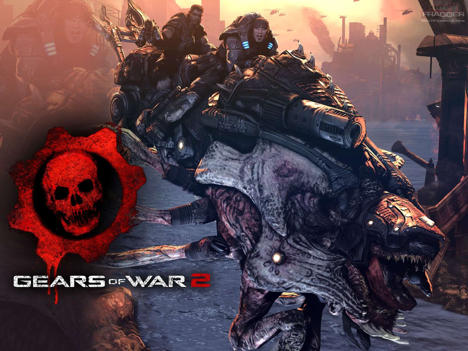 gears of war 2 holyfragger gears of war 2 wallpaper 12 - reaver