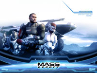 Official Mass Effect Squad Wallpaper 1