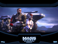 Official Mass Effect Squad Wallpaper 2