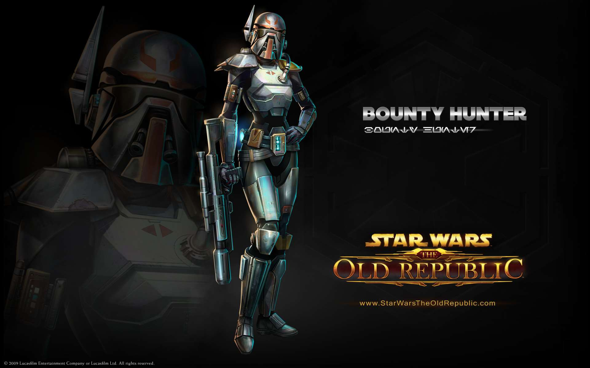 Pc Official Star Wars The Old Republic Wallpaper Bounty Hunter