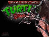 TMNT: Smash-Up Foot Ninja Wallpaper