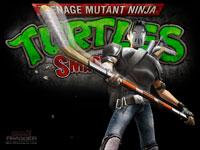 TMNT: Smash-Up Casey Jones Wallpaper
