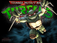 TMNT: Smash-Up Raphael Wallpaper