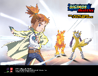 Digimon Battle Wallpaper 1