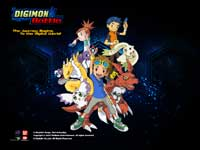 Digimon Battle Wallpaper 2