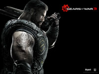 Gears of War 3 Wallpaper - Dom (Portrait)
