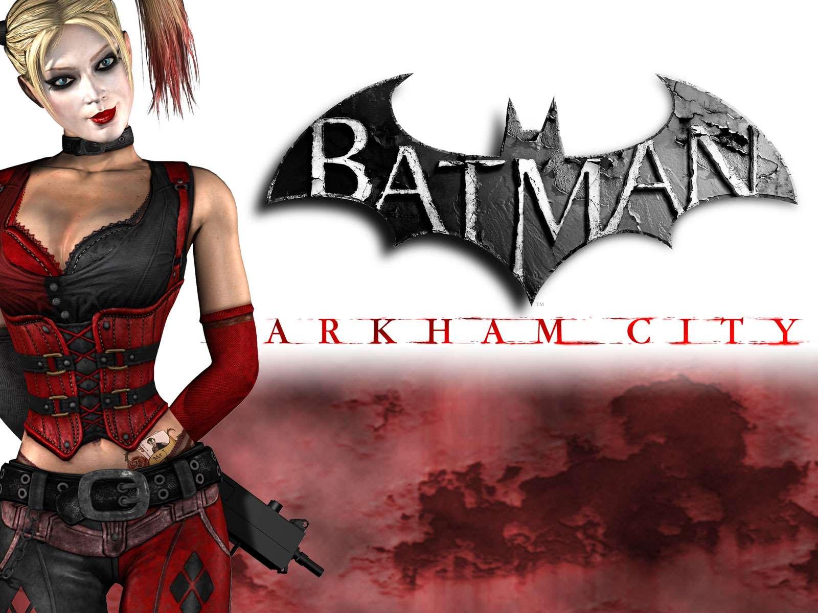 Multiplatform Batman Arkham City Wallpaper Harley Quinn