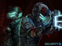 Dead Space 2 Sprawl Security Team Wallpaper