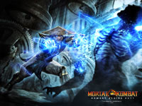 Mortal Kombat Wallpaper - Raiden