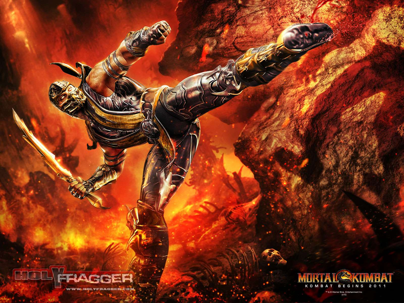 mortal kombat mortal kombat wallpaper - scorpion wallpaper - mortal